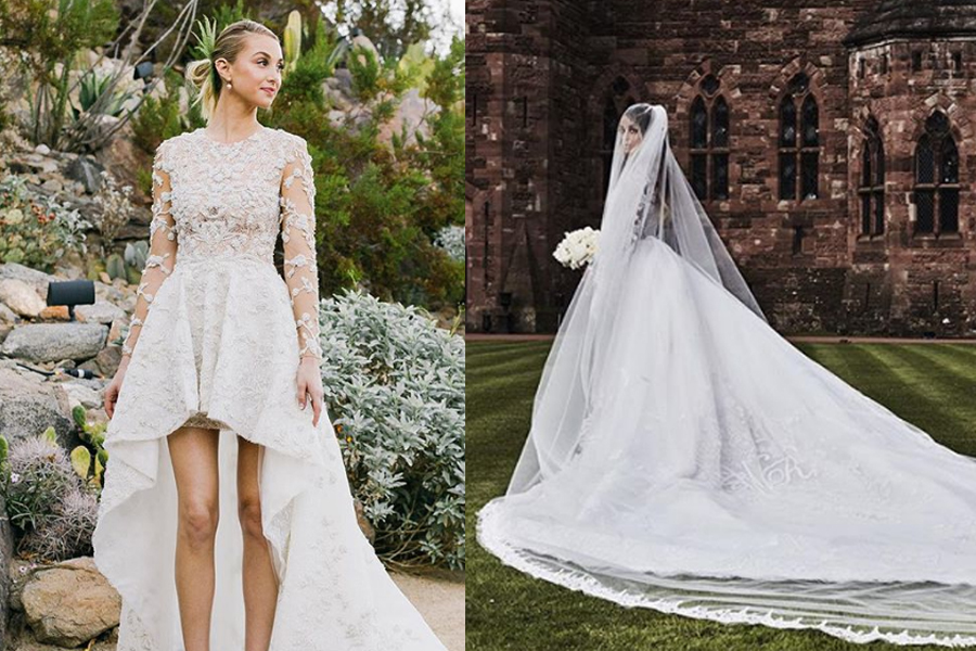 9bff062546d See The 27 Most Epic Celebrity Wedding Dresses of All Time - Bravo ...