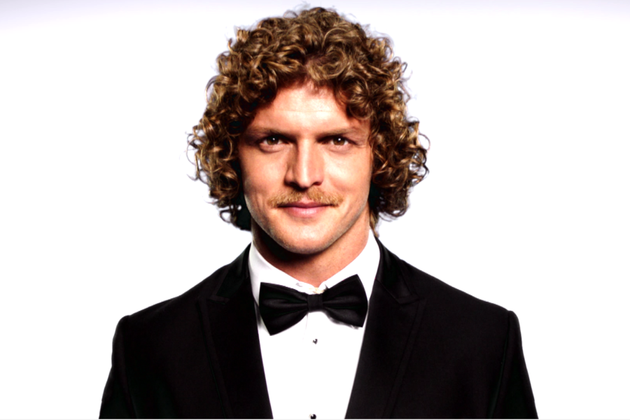 Your First Look at Nick 'Honey Badger' Cummins as The Bachelor