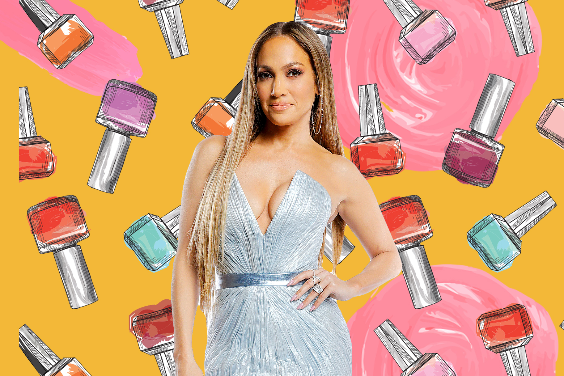 We Learned How Often Jennifer Lopez Gets a Manicure and Our Jaws ...