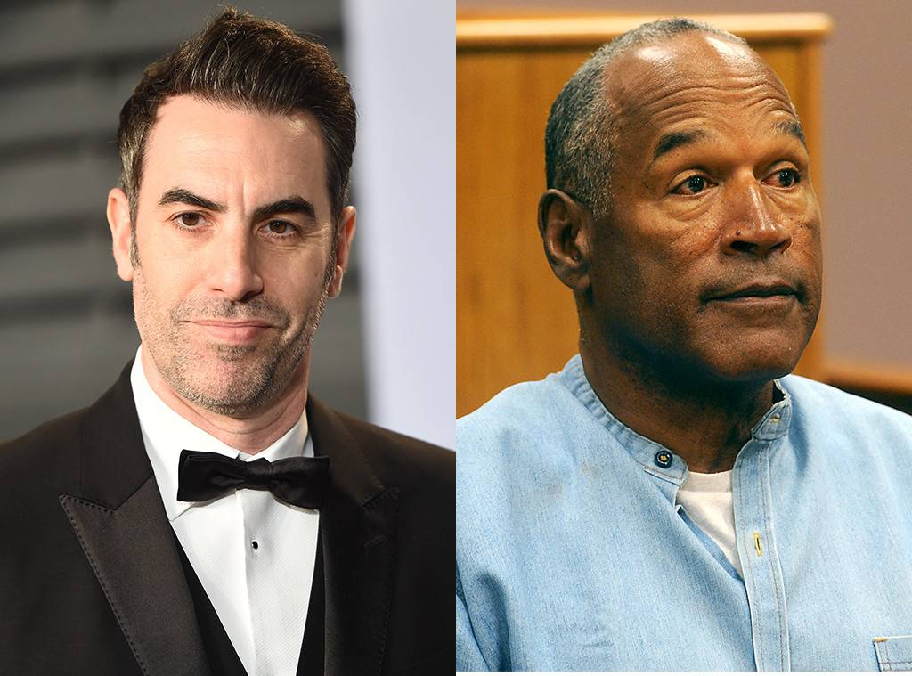 Sacha Baron Cohen had an awkward interview with O.J. Simpson
