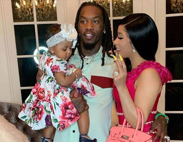 """Offset Gets Daughter Kulture Kiari S Name Tattooed On His: Cardi B And Offset's Daughter Saying """"Dada"""" Will Make Your"""