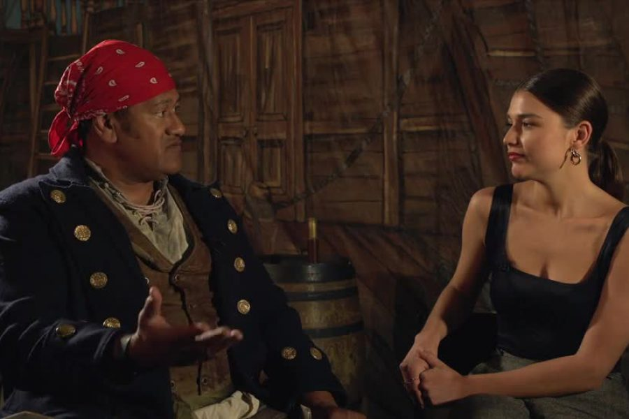 Cassidy Morris Talks Learning Lines With Jay Laga'aia